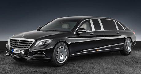 Mercedes-Maybach S600 Pullman Guard - Xe chong dan cho nguyen thu - Anh 1