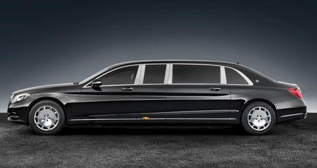 Mercedes-Maybach S600 Pullman Guard - Xe chong dan cho nguyen thu - Anh 2