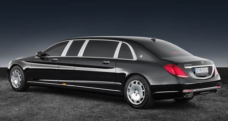 Mercedes-Maybach S600 Pullman Guard - Xe chong dan cho nguyen thu - Anh 3