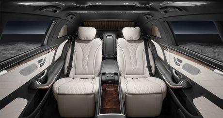 Mercedes-Maybach S600 Pullman Guard - Xe chong dan cho nguyen thu - Anh 4