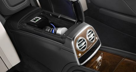 Mercedes-Maybach S600 Pullman Guard - Xe chong dan cho nguyen thu - Anh 5