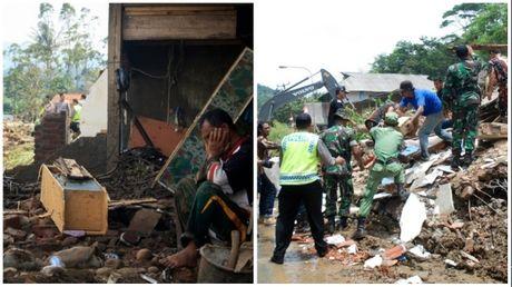Lu quet khien 77 nguoi Indonesia thuong vong, mat tich - Anh 1