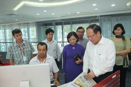 Bao SGGP phai dong hanh go kho cho DN - Anh 1