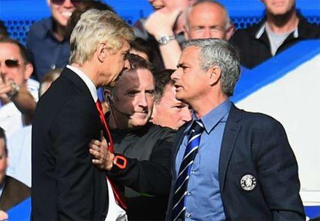 HLV Mourinho tiet lo 'muon dam vo mat Wenger' - Anh 1