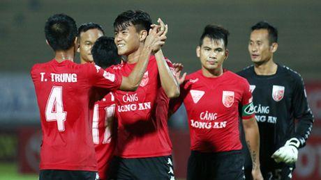 Thang sat nut Viettel, Long An o lai V.League mua toi - Anh 1