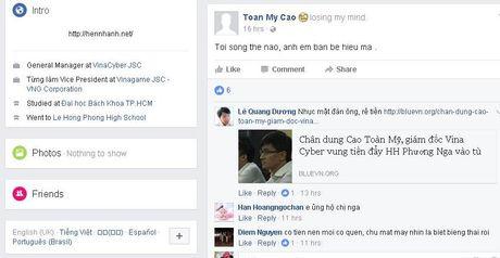 Vu dai gia 'to' Hoa hau Phuong Nga lua dao: Xuat hien 1 loat Facebook gia  - Anh 2