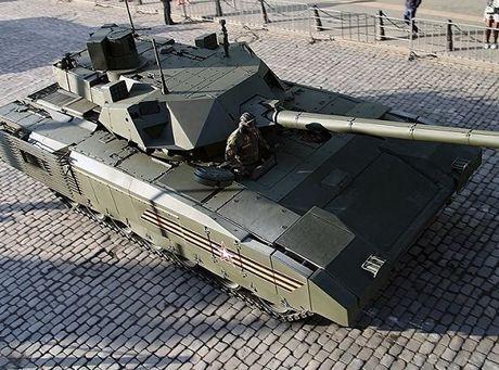Xe tang Armata se 'chap' ca dan chua uranium ngheo - Anh 1
