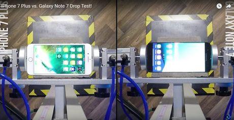 Tha roi Galaxy Note 7 va iPhone 7 Plus - Anh 1