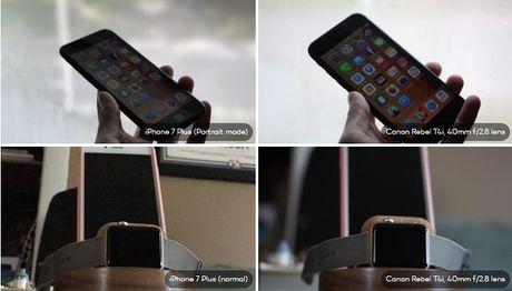 So sanh kha nang chup anh xoa phong cua iPhone 7 Plus va may anh Canon DSLR - Anh 6