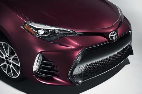 Xem phien ban 2017 cua Toyota Corolla voi nhieu nang cap - Anh 4