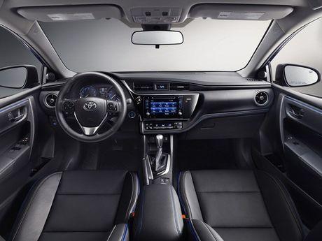 Xem phien ban 2017 cua Toyota Corolla voi nhieu nang cap - Anh 7