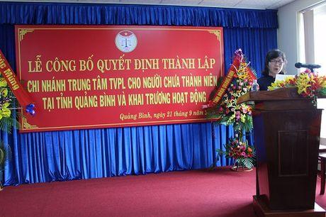 Ra mat Trung tam tu van phap luat cua Hoi Luat gia VN tai Quang Binh - Anh 1