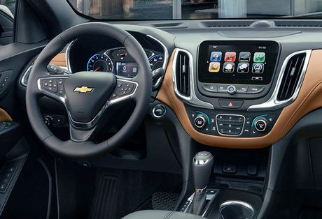Ra mat Chevrolet Equinox 2018, doi thu Honda CR-V - Anh 2