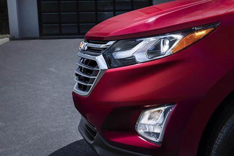 Ra mat Chevrolet Equinox 2018, doi thu Honda CR-V - Anh 4