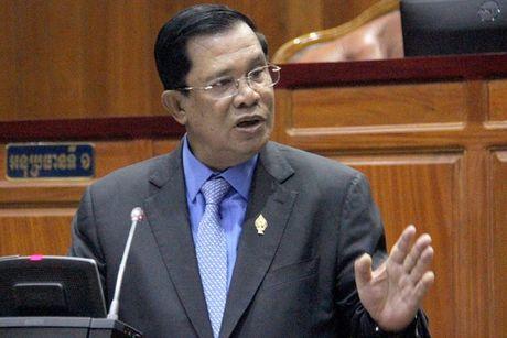 Hun Sen bat ngo noi khong muon dau khau voi phe doi lap nua - Anh 1