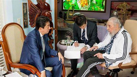 Thu tuong Nhat Ban Abe co chuyen tham lich su toi Cuba - Anh 2
