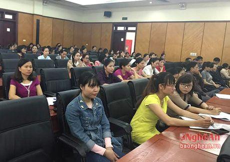 TP Vinh: Hon 500 doanh nghiep tham gia doi thoai chinh sach thue - Anh 1