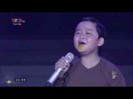 Thuy Binh The Voice Kids: Ai cung run nhung con chang thay run! - Anh 1