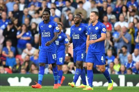 Leicester nhan tin buon truoc dai chien M.U - Anh 1