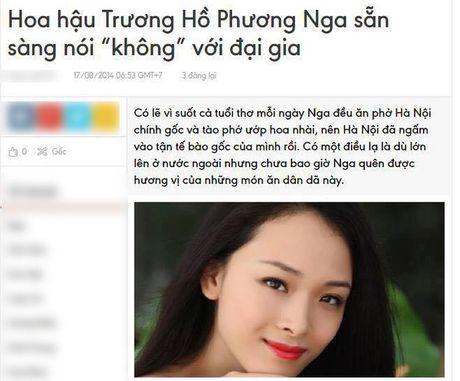2 nam truoc, Hoa hau Phuong Nga tung phat ngon the nay ve moi quan he 'chan dai - dai gia'! - Anh 1