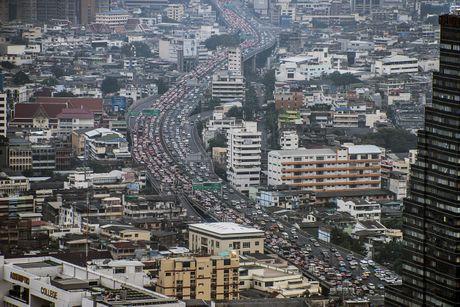 Ket xe khien Bangkok thiet hai 320 trieu USD moi nam - Anh 1