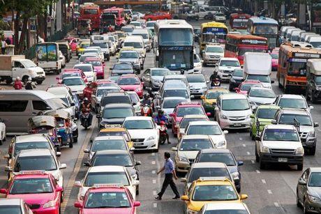 Ket xe khien Bangkok thiet hai 320 trieu USD moi nam - Anh 2