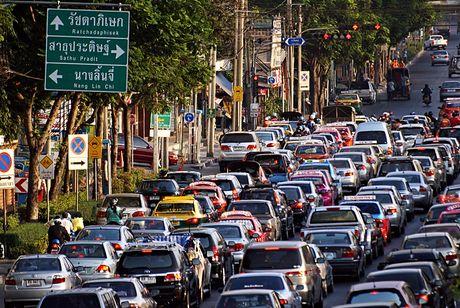 Ket xe khien Bangkok thiet hai 320 trieu USD moi nam - Anh 3
