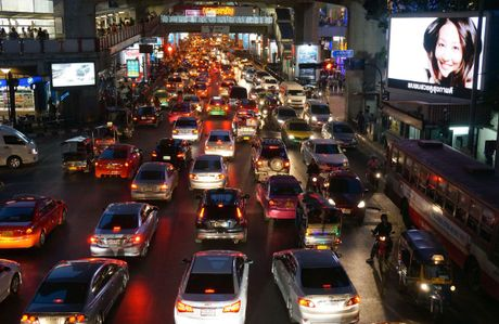 Ket xe khien Bangkok thiet hai 320 trieu USD moi nam - Anh 5