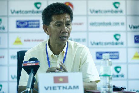 HLV truong U19 Viet Nam nhan trach nhiem sau that bai - Anh 1