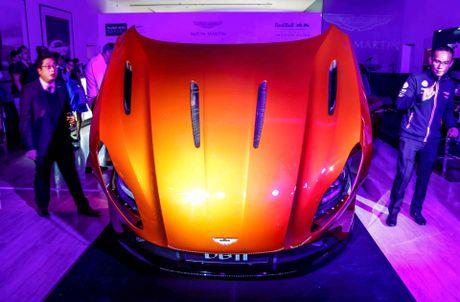 Aston Martin DB11 ra mat gioi dai gia Dong Nam A - Anh 7