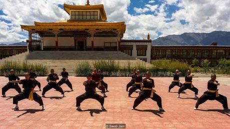 Nhung ni su luyen vo Viet Nam tren day Himalaya - Anh 1