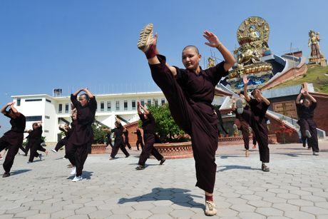 Nhung ni su luyen vo Viet Nam tren day Himalaya - Anh 3