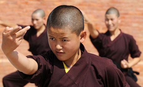 Nhung ni su luyen vo Viet Nam tren day Himalaya - Anh 4