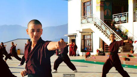 Nhung ni su luyen vo Viet Nam tren day Himalaya - Anh 5