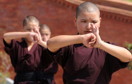 Nhung ni su luyen vo Viet Nam tren day Himalaya - Anh 6
