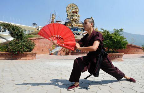 Nhung ni su luyen vo Viet Nam tren day Himalaya - Anh 7