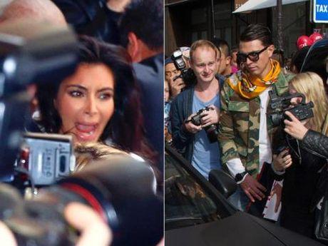 Gigi Hadid bi ke tung gay han Brad Pitt, Kim Kardashian 'quay roi' giua pho - Anh 6