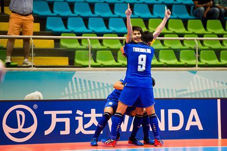 DT Futsal Thai Lan bi loai o Futsal World Cup 2016 - Anh 1