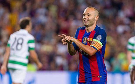 Iniesta muon ket thuc su nghiep o Barca - Anh 1