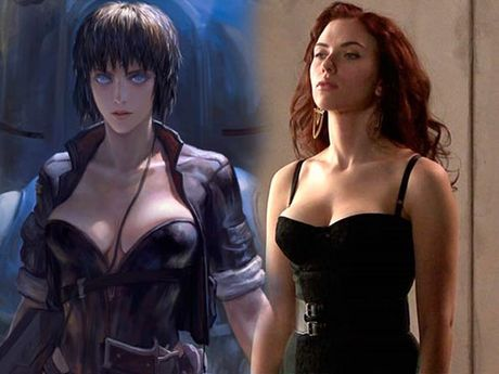 Scarlett Johansson trở thành chiến binh lạnh lùng trong 'Vỏ bọc ma'