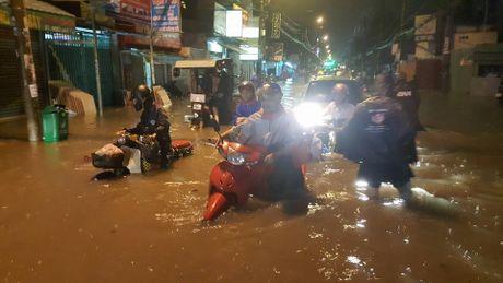 ngập lụt ở sài gòn
