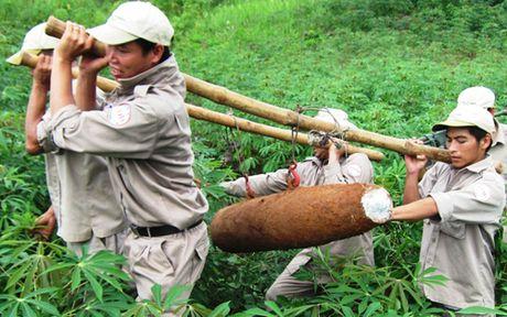Hơn 83% diện tích đất Quảng Trị bị ô nhiễm bom mìn