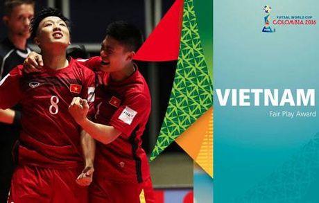 DT futsal Viet Nam duoc FIFA vinh danh - Anh 1