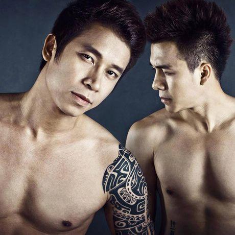 Choang vi body nhu luc si cua Ung Hoang Phuc va loat sao nam Viet - Anh 12