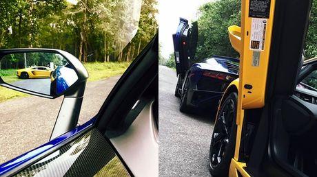 Lamborghini Aventador SV cua Minh 'Nhua' lan dau xuong pho - Anh 1