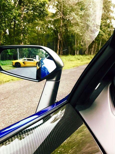 Lamborghini Aventador SV cua Minh 'Nhua' lan dau xuong pho - Anh 3