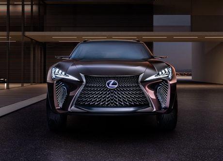 Lexus 'dap tra' BMW X2 voi crossover UX sieu hien dai - Anh 2