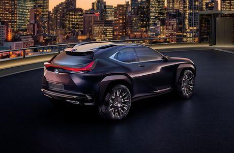Lexus 'dap tra' BMW X2 voi crossover UX sieu hien dai - Anh 4