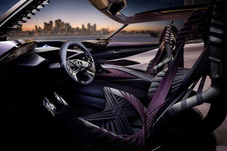 Lexus 'dap tra' BMW X2 voi crossover UX sieu hien dai - Anh 5