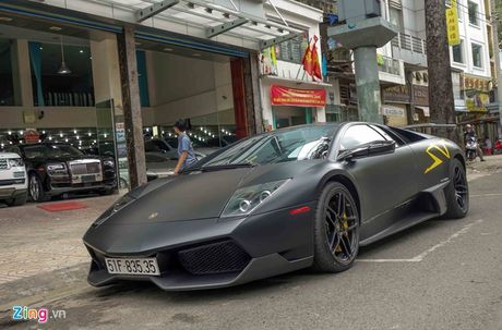 Lamborghini Mucielago 'kich doc' cua Minh nhua ve tay chu moi - Anh 2